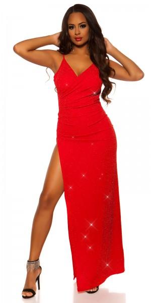 Sexy Red-Carpet Koucla Abendkleid Wickellook