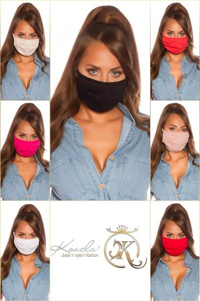 14 Stück  MIX-Farben Stoff-Alltags/Mundmaske