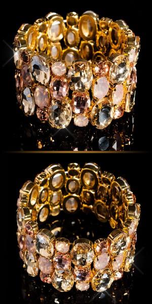 Elegantes Strassstein Armband