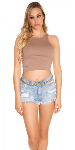 Sexy KouCla Tank crop Top