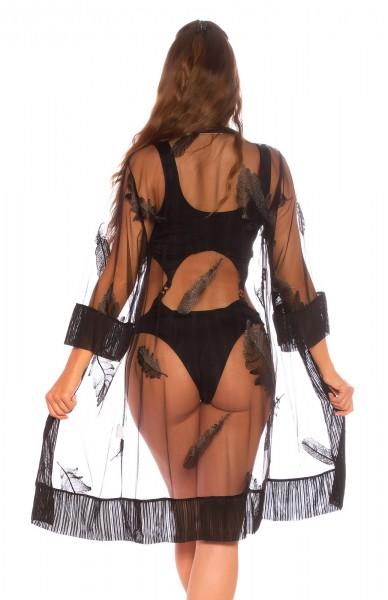 Sexy Cover-up mit Stickerei
