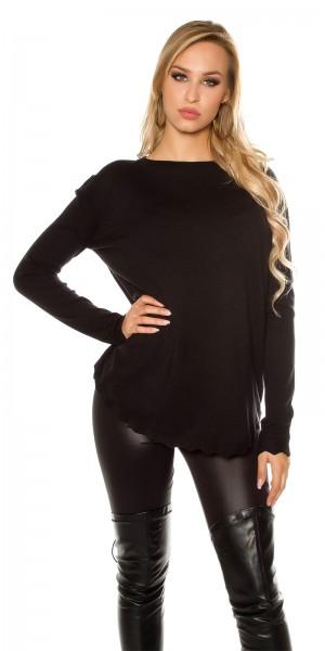 Trendy KouCla Oversize Pullover