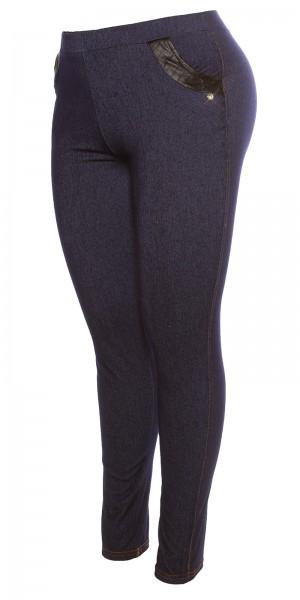 Curvy Girls Size! Trendy Jeanslook Leggings