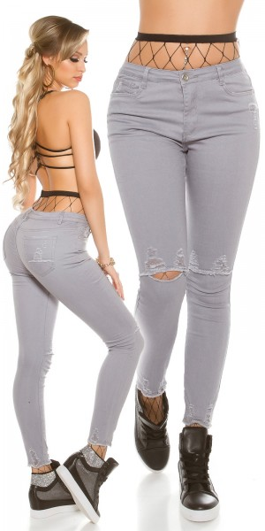Sexy skinny Jeans used look